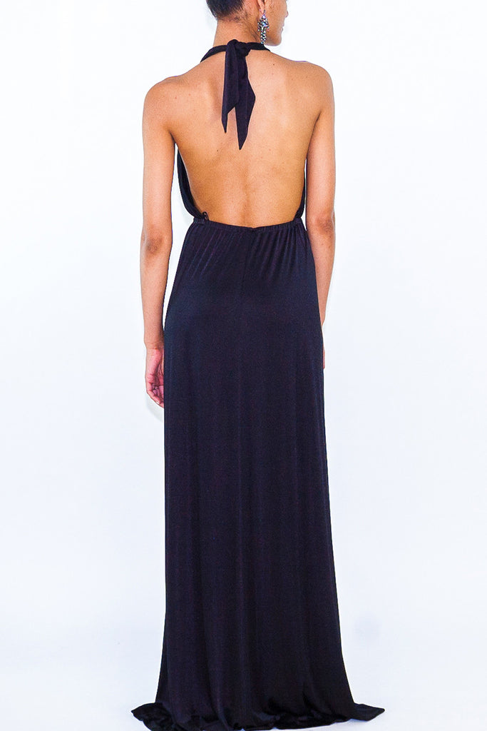 Halston Heritage Halter Long Dress