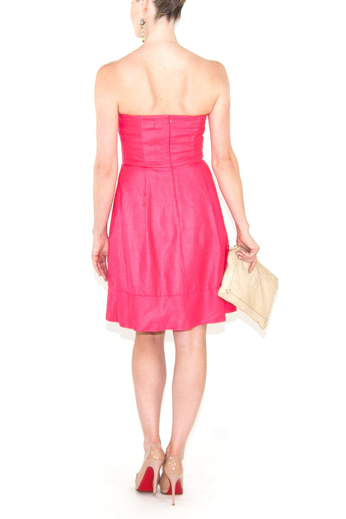 Trina Turk-Pink--Short Dress-Polyester-small