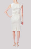 Lela Rose-White--Short Dress-Cotton-small