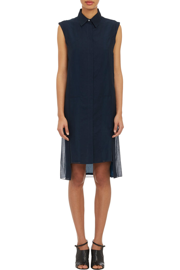 Public School-PUBLIC SCHOOL Voile Sleeveless Shirtdress