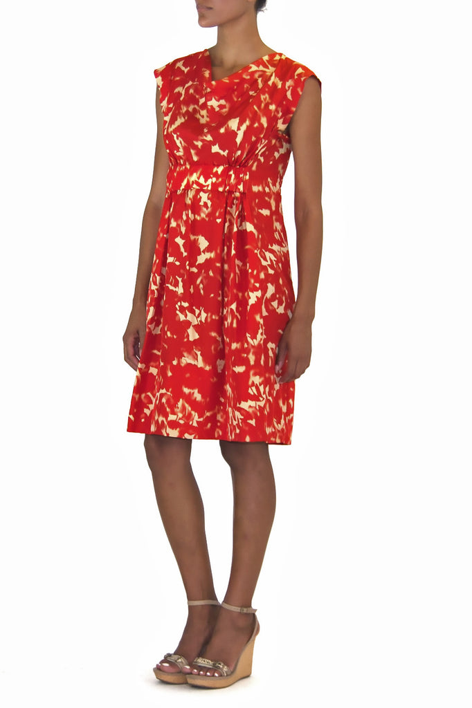 Kenneth Cole-Red-Multi-Dress