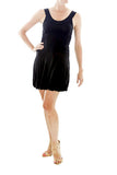 Helmut Lang Black Dress with Bubble Skirt