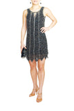 Romeo & Juliet Couture Flapper Style Dress