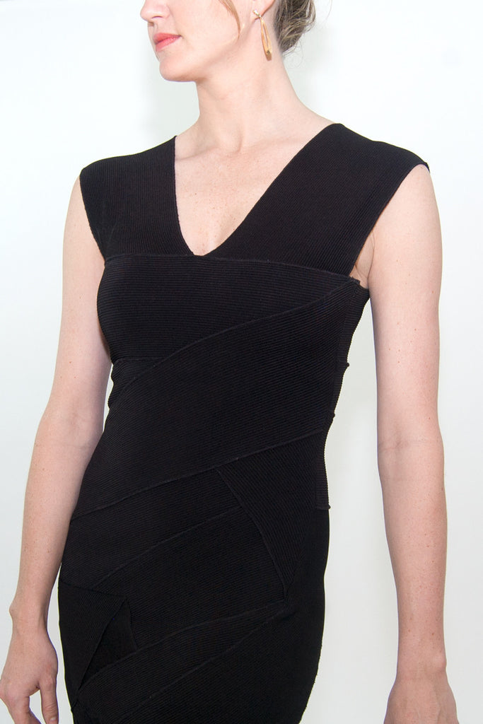 BCBG Black Bandage Dress