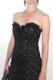 Custom Made-Black--Short Dress--x-small