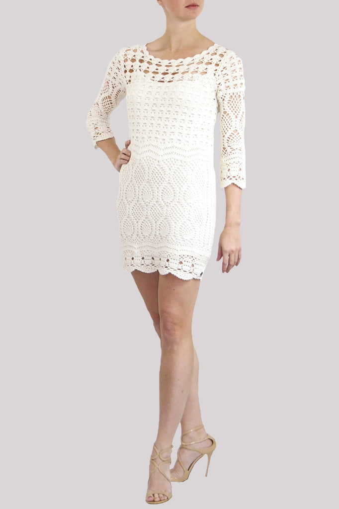 Hugo Boss Crochet Dress
