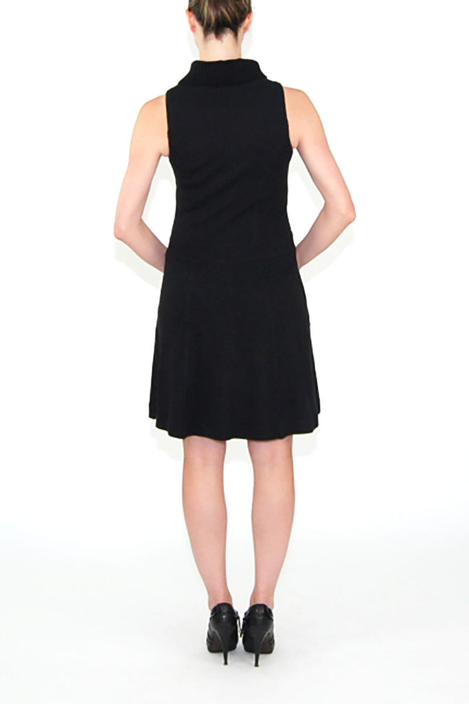 Theory wool turtle-neck dress