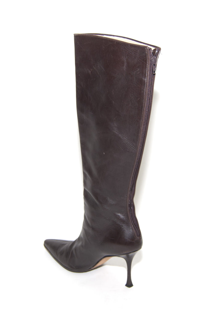 Prada-Brown--Boots-Leather-10