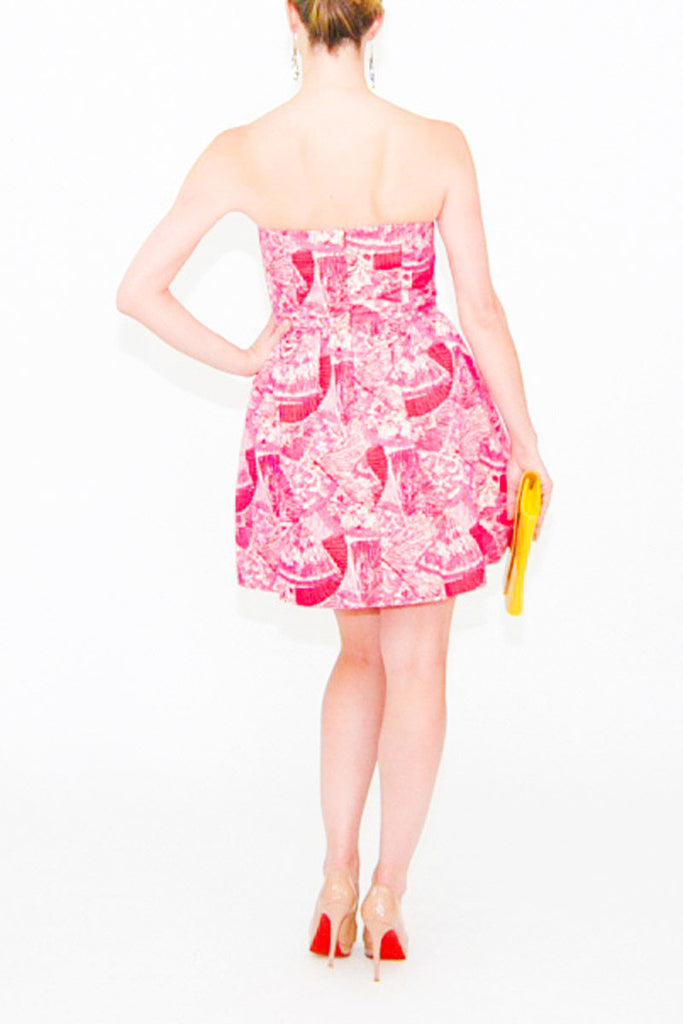 Lilly Pulitzer-Pink--Short Dress-Cotton-small