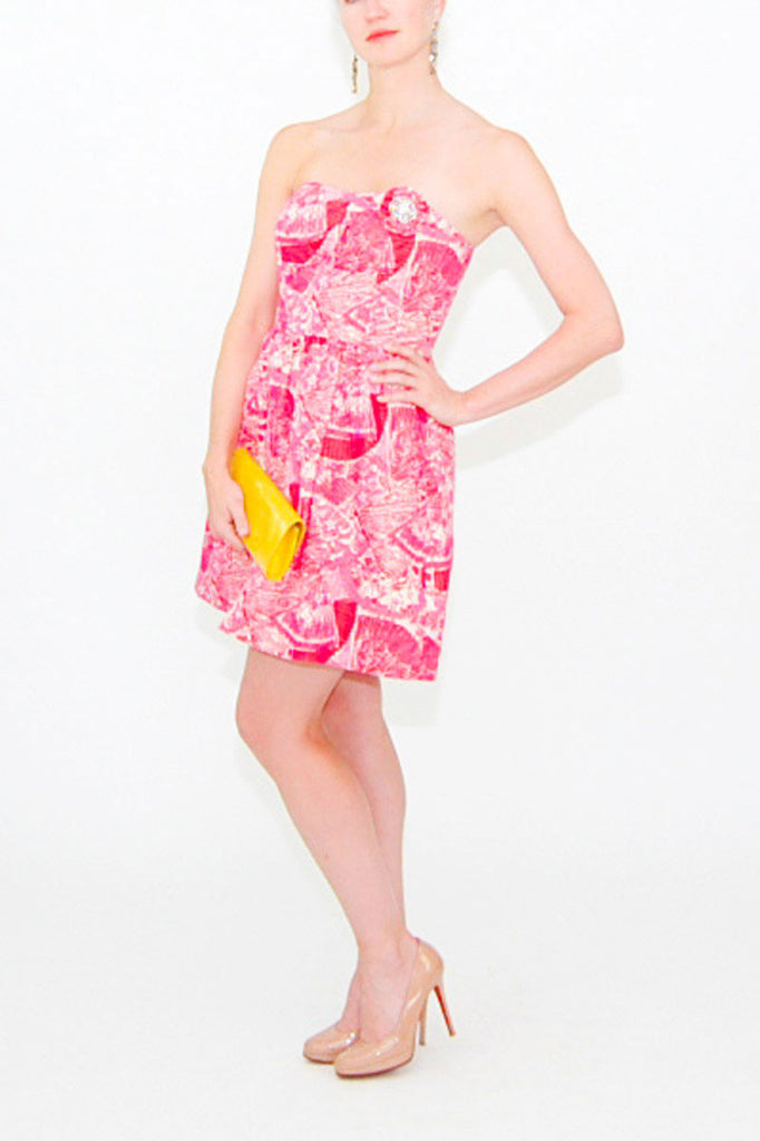 lilly-pulitzer-strapless-brooch-dress