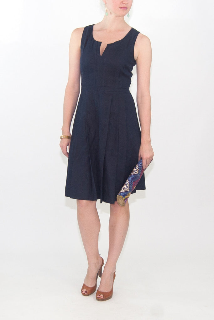 Tory Burch Amalia Linen Dress