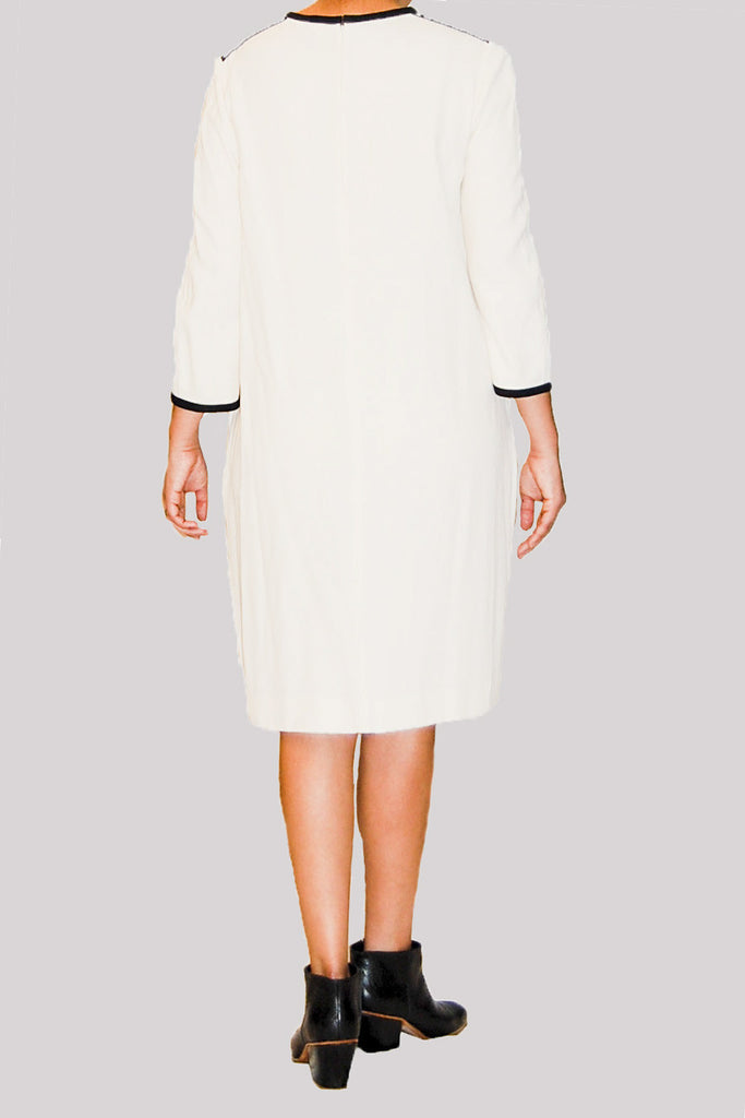 White Chloe Shift Dress