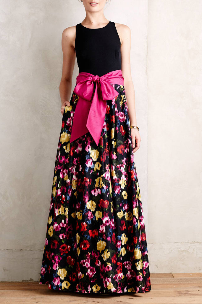 Anthropologie-French Fields Gown