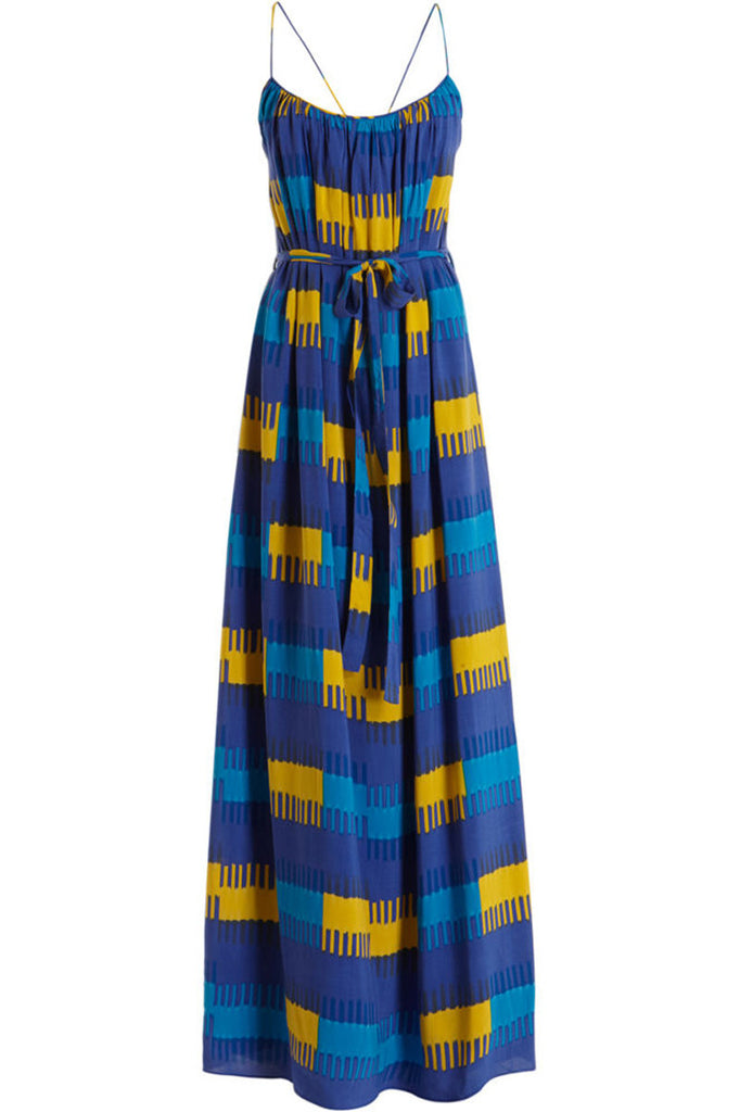 Thakoon colorful ikat maxi dress
