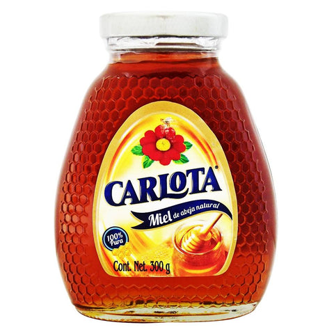CARLOTA HONEY 10.58OZ (300GR) / 12