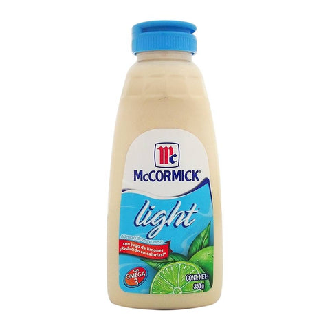 MAYONNAISE DRESSING WITH LIME JUICE LOW CALORIES MCCORMICK 12.34 OZ (350GR) / 12