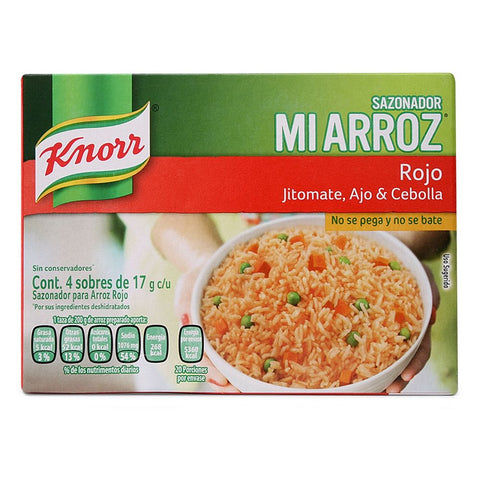 RICE SEASONING MI ARROZ MIX 2.39 OZ (68GR) / 24