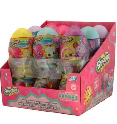02025 MEGA EGG SURPRISE CANDY SHOPKINS 1 / 18