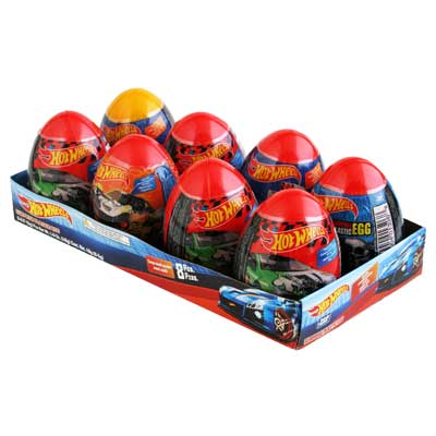 HOT WHEELS EGG SURPRISE 15x 8 - Brand Name Distributors Houston
