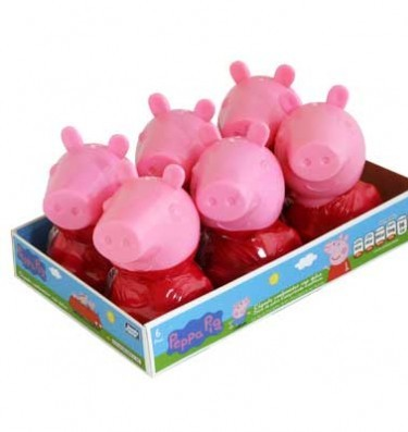 CANDY CONTAINER PEPPA PIG 6 PACK (15X 6)
