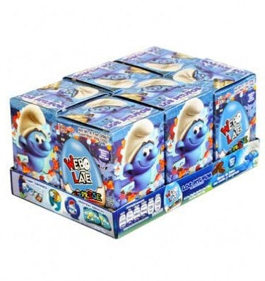 02366 CHOCOLATE EGG SURPRISE CANDY WEBO LATE EL SMURFS 1 / 6
