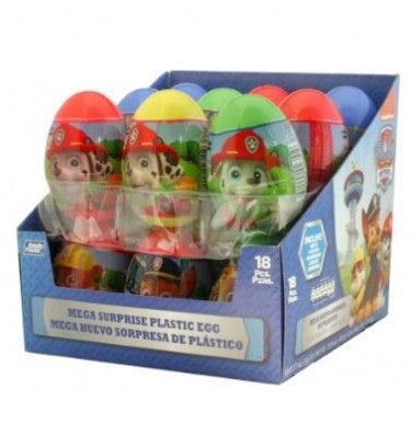 02409 MEGA EGG SURPRISE CANDY PAW PATROL 1 / 18