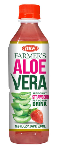 OKF ALOE VERA  STRAWBERRY 12X1.5 LT