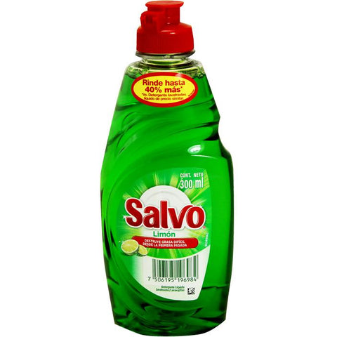 SALVO DISH LIQUID 300ML/12 - Brand Name Distributors Houston