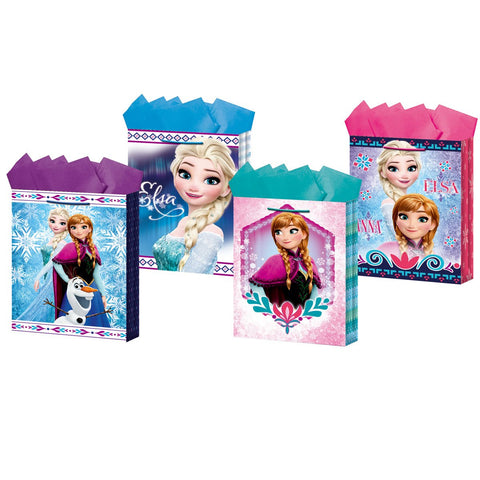 23942 GIFT BAG MEDIUM FROZEN 1/50