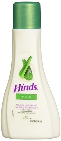 HINDS BODY CREAM NATURAL SABILA 3.04OZ (90ML) / 30