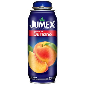 JUMEX CAN PEACH GLASS JUICE 16.90 FL OZ (500ML) / 12
