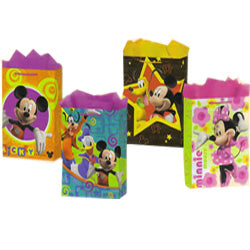 02022 GIFT BAG MEDIUM MICKEY 1/50