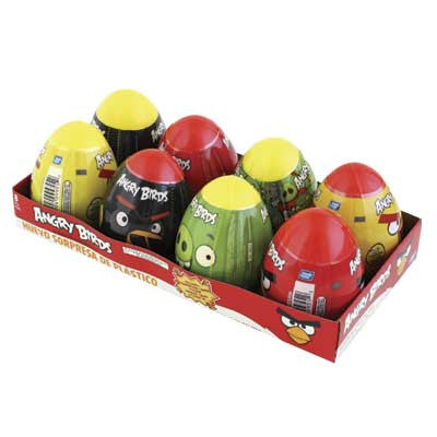 ANGRY BIRDS EGG SURPRISE 15x 8 - Brand Name Distributors Houston