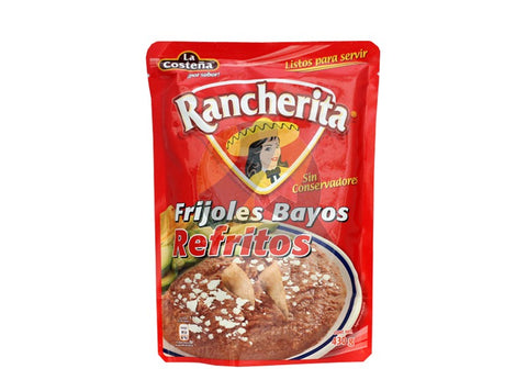 RANCHERITA BAG POUCH PACKED BEANS BAYOS REFRIED 15.16OZ (430GR) / 24