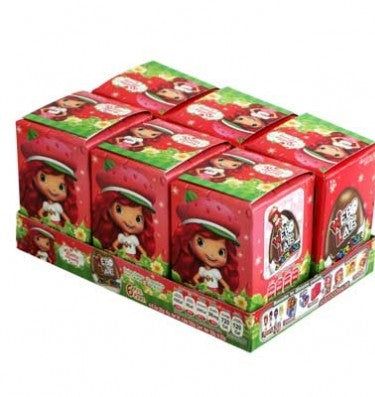 CHOCOLATE EGG SURPRISE CANDY WEBO LATE STRAWBERRY SHORTCAKE (18x 6)