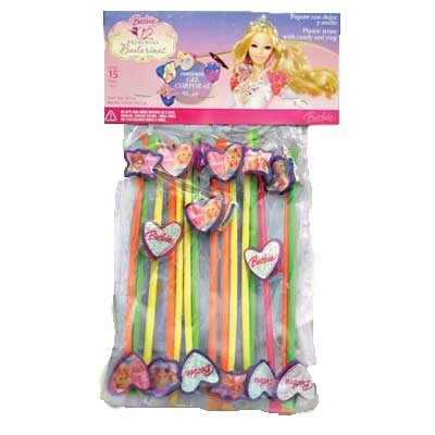 GRAGEA STRAW BARBIE RING WITH CANDY 40X15