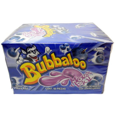 BUBBALO GUM BLUEBERRY-MORA AZUL 50/1 - Brand Name Distributors Houston