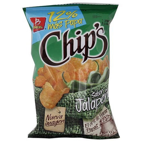 CHIPS JALAPEÑO 50GR/50 - Brand Name Distributors Houston
