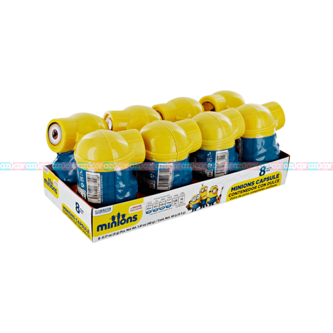 CANDY CONTAINER MINIONS 8 PACK 15x 8