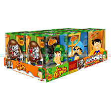 CHOCOLATE EGG SURPRISE CANDY WEBO LATE EL CHAVO 6 PACK (18x6)