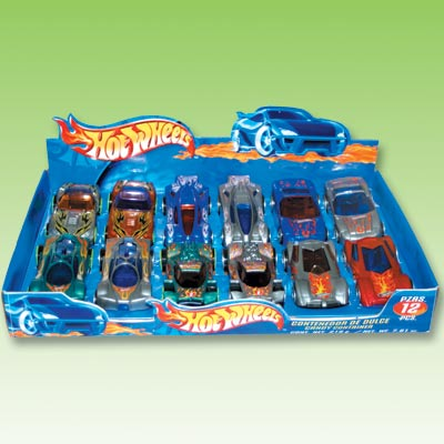 02280 CANDY CONTAINER HOT WHEELS 1 / 12