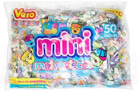 MARSHMALLOWS VERO MINI 50PACK 750GR/5