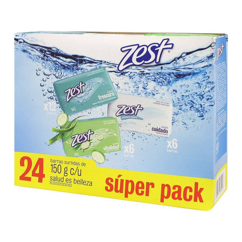 ZEST BAR SOAP MIX 5.29OZ (150GR) /24