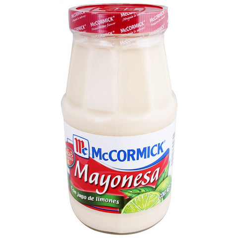 MAYONESA McCORMICK 190GR/24 - Brand Name Distributors Houston