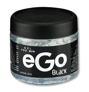 EGO HAIR GEL BLACK 8.45 OZ (250ML) / 24