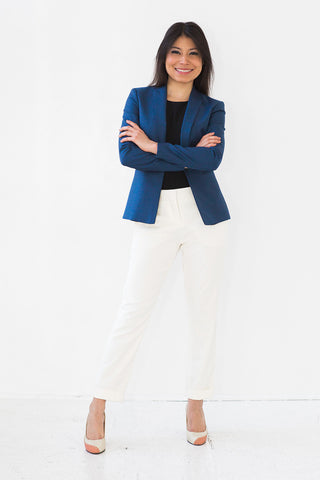 Dressed Up Geneva Luxe Fit (Royal Blue)