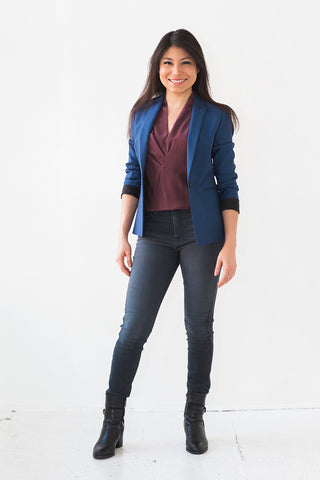Dressed Down Geneva Luxe Fit (Royal Blue)
