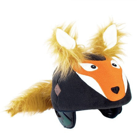 Fox Helmet Cover - Adults , Adult - Tail Wags Helmet Covers Inc, Tail Wags Helmet Covers