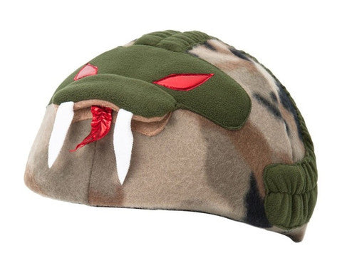 Snake Helmet Cover - Adult , Adult - Tail Wags Helmet Covers Inc, Tail Wags Helmet Covers