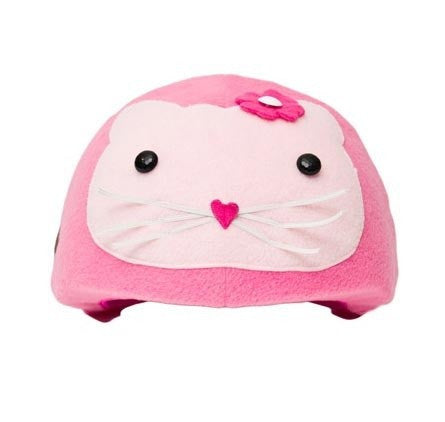 Kitty Helmet Cover - Girls , Child - Tail Wags Helmet Covers Inc, Tail Wags Helmet Covers  - 1